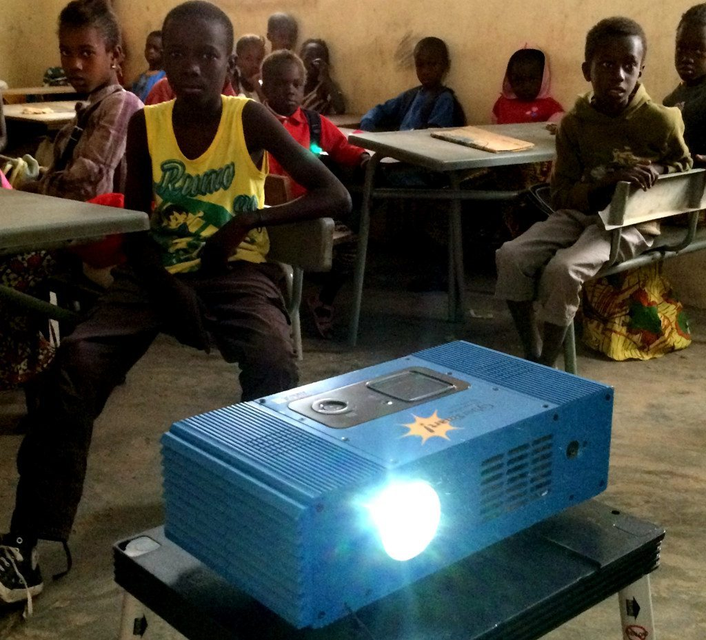 Classroom With Projector